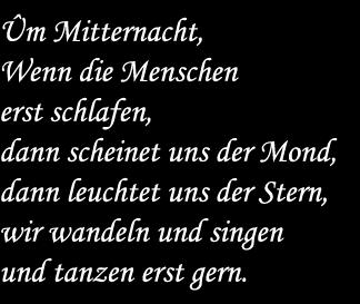 Gedicht Elfen Von J W V Goethe